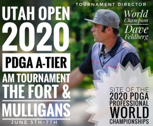 The 2020 Utah Open graphic