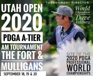 The 2020 Utah Open graphic