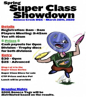 Spring Super Class Showdown (Super Class Series #1) graphic