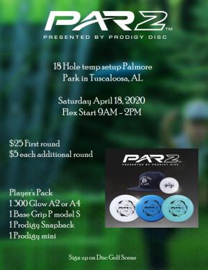 Par 2 Challenge - Tuscaloosa, Alabama Powered by Prodigy graphic