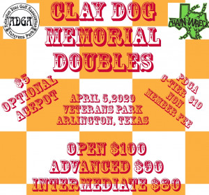 Clay Dog Memorial Doubles graphic
