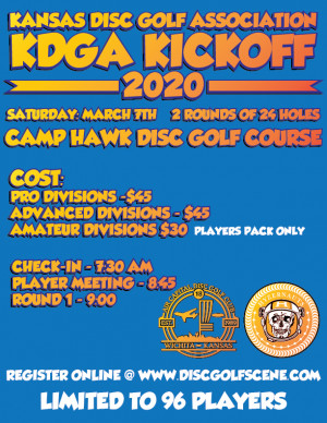 KDGA Kickoff graphic
