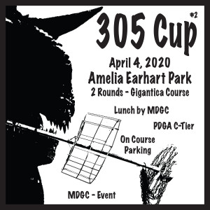 "Miami Disc Golf Club Presents the ""305 CUP"" Driven by Innova graphic"