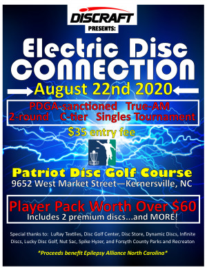 Electric Disc Connection - presented by Discraft graphic
