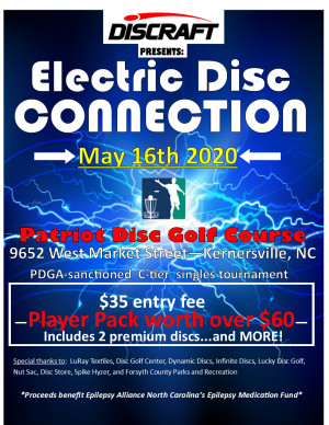 Discraft presents: Electric Disc Connection graphic