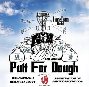 4th Annual HomeTeam Putt For Dough graphic