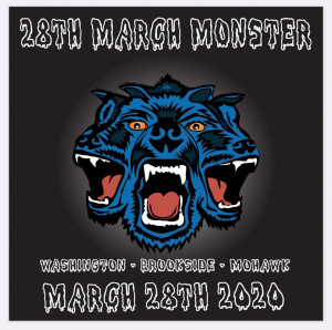 28th Annual March Monster presented by IDGC and Chubb Disc Golf graphic