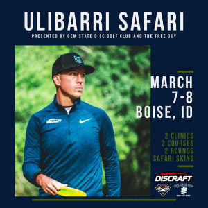 Ulibarri Safari presented by Gem State Disc Golf Club and The Tree Guy graphic