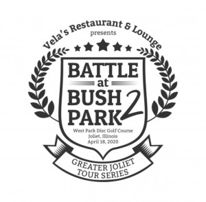 Battle at Bush Park 2 - Presented by Vela's Restaurant & Lounge - Driven by Innova Discs graphic