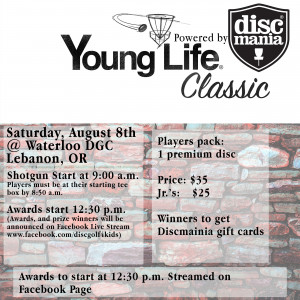 YoungLife Classic Powered by Discmania graphic
