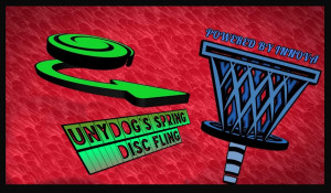 """SPRING DISC FLING """"Powered by Innova"""" graphic"""