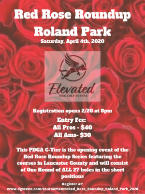 Red Rose Roundup - Roland Park graphic