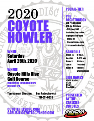 Coyote Howler graphic