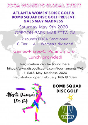 WGE- GaLS May Madness graphic