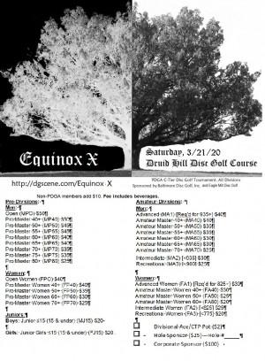Equinox X graphic