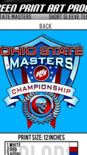 Ohio State Masters Championship sponsored by Dynamic Discs graphic