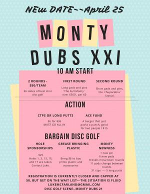 Monty Dubs 21 graphic