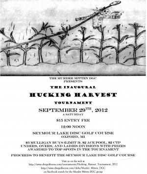 Hucking Harvest Tournament graphic