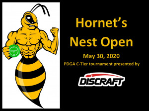 Third Annual Hornet's Nest Open presented by Discraft graphic
