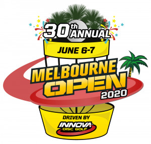 30th Annual Melbourne Open driven by Innova Discs fueled by Sun King graphic