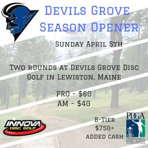 Devils Grove Season Opener graphic