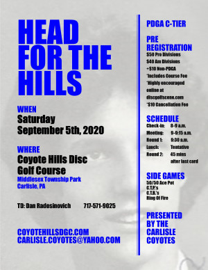 Head For The Hills graphic