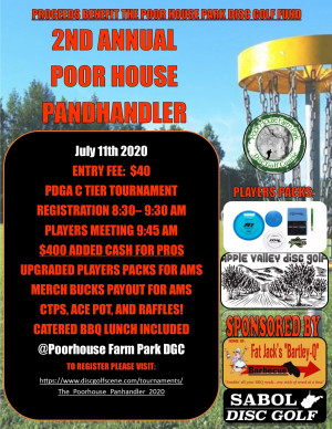 The Second Annual Poor House Panhandler Powered by Prodigy graphic