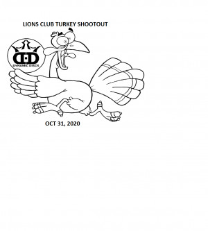 Lion's Club Turkey Shootout 2 by Dynamic Discs/ Marion Open graphic
