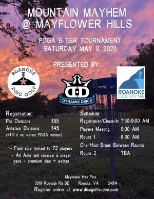 Mountain Mayhem at Mayflower Hills graphic