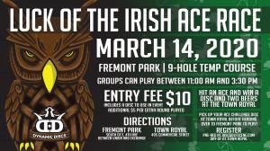 2020 Luck of the Irish Ace Challenge graphic