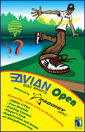 Avian Disc Sports Open Powered by Prodigy graphic