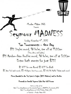 Seymour MADNESS Tournament graphic