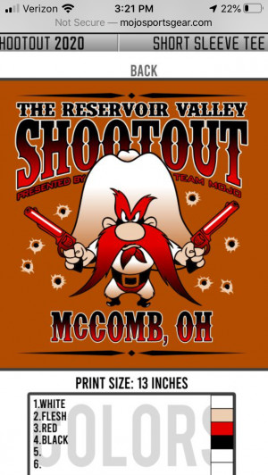 Reservoir Valley Shootout sponsored by Dynamic Discs graphic
