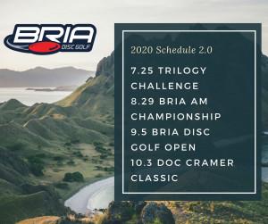 2nd Annual Bria Disc Golf Open presented by Discmania graphic