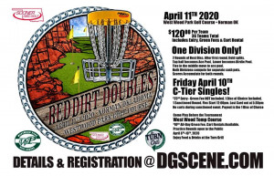 Red Dirt Doubles Presented by Sooner Disc Golf graphic