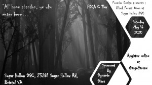 Premier Design : Black Forest Open at Sugar Hollow - Sponsored by Dynamic Discs graphic