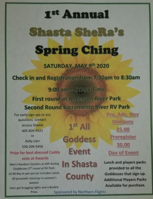 1st Annual Shasta SheRa's Spring Ching graphic