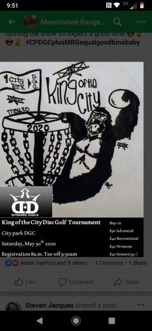 King of the City 2020 graphic