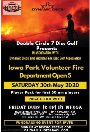 5th annual Iowa Park Volunteer Fire Department Open graphic