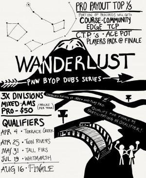Wanderlust - PNW BYOP DUBS FINALE graphic