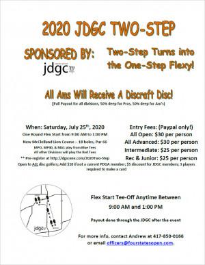JDGC Two-Step - One Step Flexy graphic