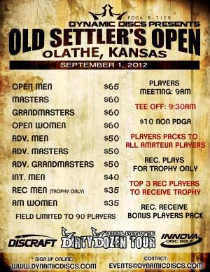 Old Settler's Open graphic