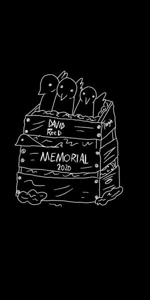 2020 David Reed Memorial graphic