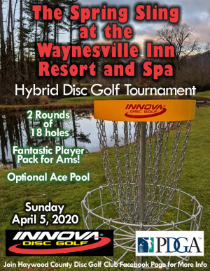 The Spring Sling at The Waynesville Inn Golf Resort and Spa - Driven by Innova graphic