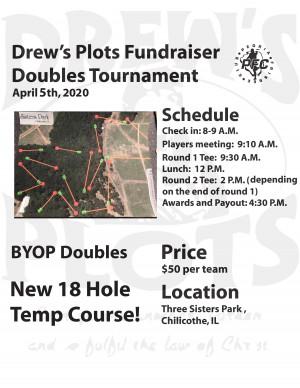 Drews Plots Double Fundraiser graphic