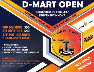 D-Mart Open Presented By Fire Leaf, Driven By Innova graphic