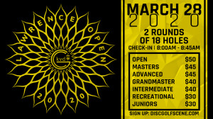 2020 Lawrence Open Presented By Dynamic Discs KC in association with KVDGC graphic