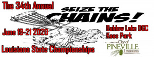City Of Pineville Presents: 34th Annual Louisiana State Championships graphic
