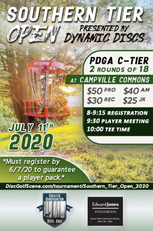 Southern Tier Open 2020 graphic