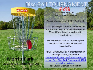 Toys For Tots Disc Golf Tournament graphic